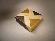 Square Box - Tomoko Fuse (Rui.Roda) Tags: origami box caja caixa papiroflexia tomoko fuse bote