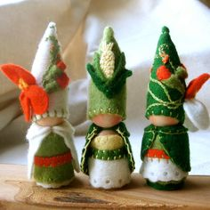the girls would love these little #gnomes