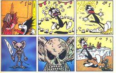 Squeak The Mouse es un genial cómic underground de los ochenta, creado por el…
