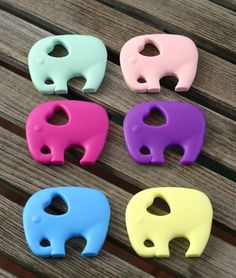 BPA Free Silicone Baby Teethers!