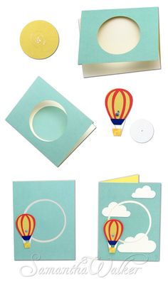 Samantha Walker's Imaginary World: Silhouette Tutorial Creating a Circle Interactive Card