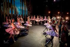 Corps de ballet, Mikhailovsky Theatre, after the bright premiere of revised Le Corsaire - Photo by Jack Devant