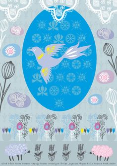Illustration by Sabina Wroblewski Gustrin, via Behance