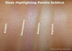 Review of Sleek Highlighting Palette in Solstice