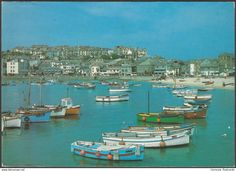 St Ives, Cornwall, 1987 - J & S Cards Postcard