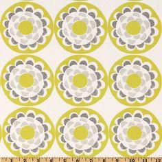 Ty Pennington Impressions Blossom Chartreuse Item Number: DV-208