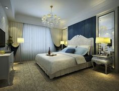 Modern  Classic Bedrooms And Living Rooms Bedroom Decorating - Modern classic bedroom design ideas