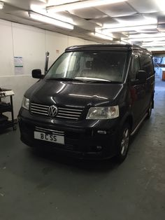 A customer came in with a standard VW T5 van and asked us to fully customise it with fully working kitchen bed sink cupboards upgrade the sound system basically fully convert the whole van for a campervanand we had one week to do it in not a problem for our team down here at Bcss Car Sounds in Coulsdon