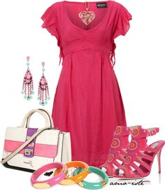 """Spring Dress"" by amo-iste on Polyvore"