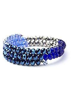 Colorblock Coil Bracelet