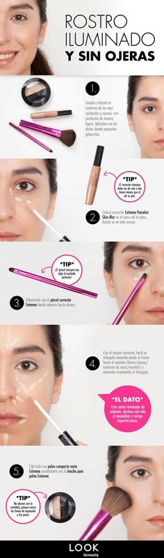 tips belleza Eye Makeup k beauty eye makeup Love Makeup, Simple Makeup, Makeup Art, Makeup Tips, Makeup Looks, Hair Makeup, Beauty Make Up, Beauty Care, Diy Beauty