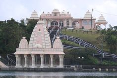 Ganga Talao Hindu Temple Mauritius Wallpaper