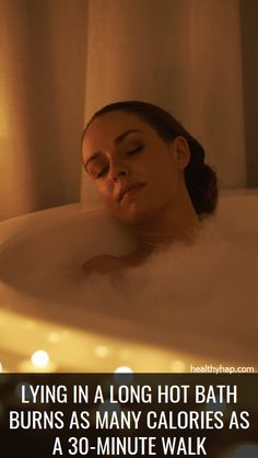 Lying in a Long Hot Bath Burns as Many Calories as a Walk – Healthy Hap Hot Water Benefits, Health Benefits Of Ginger, Herbal Cure, Herbal Remedies, Health Remedies, Health Tips, Health And Wellness, Health Book, Health Guru
