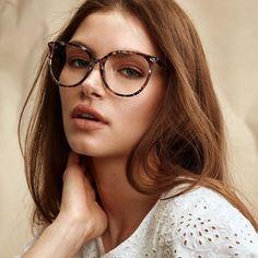 ce51d4685a6 Women s Eyeglasses - Area in Onyx Marble. Tiffany EyeglassesGlasses Frames  ...