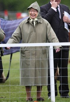 is it irreverent to say that the queen looks adorable?