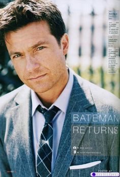 Jason Bateman cute and funny!