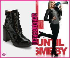 Jeffery Campbell Fork Platform Lace-Up Boots -- Worn on Instagram for the Pass Me By Countdown and at about a thousand other places. These are the ones I want!