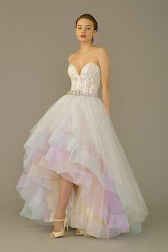 Hi-Low Gown by The Louvre Bridal (#2282) - The Wedding Dress - SingaporeBrides