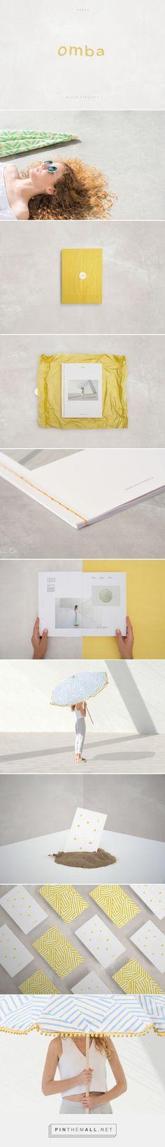 OMBA Urban Beach Parasols Branding by Tatabi Studio | Fivestar Branding – Design and Branding Agency & Inspiration Gallery