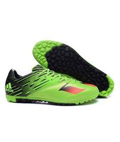 low priced f6668 22a99 Adidas Messi 15.3 TF KUNSTGRÆS fodboldstøvler grøn sort rød