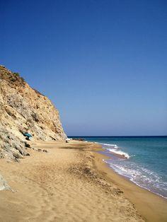Flamourou beach, Anafi
