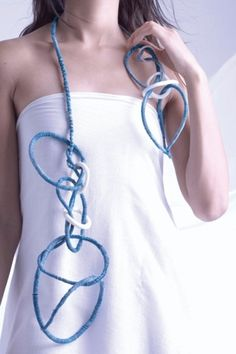 Tanvi Kant: textile jewellery