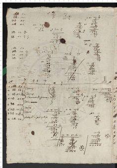 """Annotazioni e calcoli di teoria musicale, con definizione del """"tonus medius"""" (senza data, probabilmente primi decenni del 1700)"""