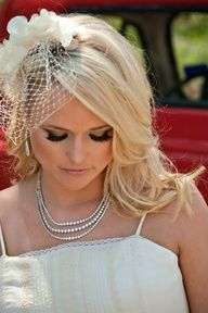 the serendipitist: How to Wear a Birdcage Veil