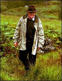 Sir Anthony Hopkins in Snowdonia