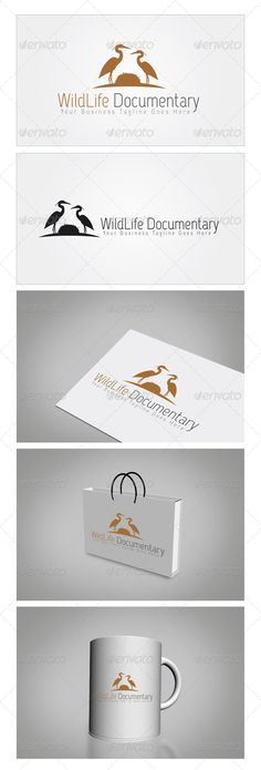 WildLife Documentary Logo Template — Photoshop PSD #flight #travel blog • Available here → https://graphicriver.net/item/wildlife-documentary-logo-template/5967408?ref=pxcr