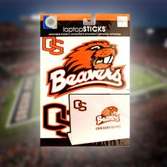 Oregon State Laptop Stickers - FREE Shipping Offer