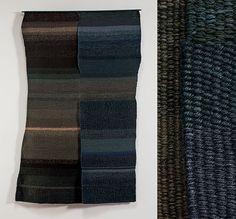artist Carolina Yrarrázaval tapestries and publications Textiles, Tapestries, Textile Design, Art Inspo, Weaving, Sculpture, Black And White, Artist, Fiber