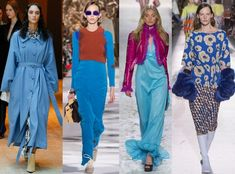 Azul claro Fashion Colours, Color Trends, Pantone, Womens Fashion, Fashion Trends, Cover Up, Glamour, Knitting, Clothes