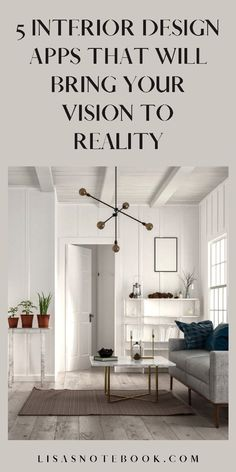 Five interior design apps to help turn your vision into reality