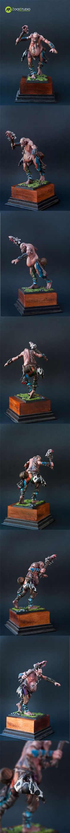 Giant (Games Workshop)  Painted by Doe from Zoo Art Studio