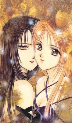"Art from ""Ayashi No Ceres"" series by manga artist Yuu Watase."