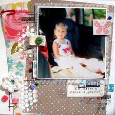 Hobbimaniya ... com calor ... de coração para coração: Página DK ScrapMemory