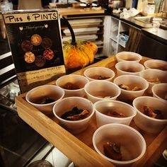 Sampling Pies & Pints this weekend!!! Order your Thanksgiving @bucketandbay pints paired with @chocopainbakery pies by Monday for pick-up at our Jersey City location on Wednesday!! #TurkeyDay #gobblegobble #jceats #chocopain #PecanAndBlackLabel #MyFavorite