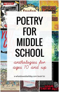 Inspiring Must-Read Poetry for Middle School Students Inspiring Must-Read Poetry for Middle School Students Erica What Do We Do All Day Save Images … – Preteen Poems For Middle School, Poems About School, Middle School Reading, Middle School English, Poetry Books For Kids, Best Poetry Books, Poetry Unit, Read Aloud Books, Children's Books
