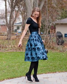 Holiday Party Outfit: Voodoo Vixen Anabelle Skirt