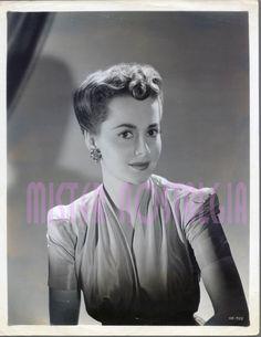 Vintage Photo 1940 Olivia de Havilland RARE Warner Brothers Portrait Original…