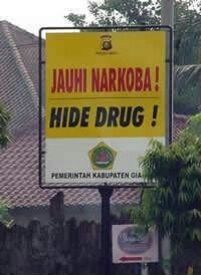Hide drug! Begoo!!