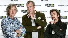 Jeremy Clarkson, Richard Hammond and James May sign with Amazon to make a new show.