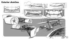 VOLKSWAGEN XE VISION || Exterior modeling & animation on Behance