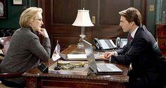 """Robert Redford, Meryl Streep e Tom Cruise em LEÕES E CORDEIROS (Lions for Lambs). 1-""""Se você luta com o mesmo adversário a muito tempo, você aprende suas táticas. """""""