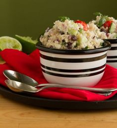 Creamy Lime Quinoa Salad