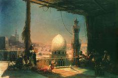 Aivazovsky - Scenes from Cairo's life - Ivan Aivazovsky - Wikipedia