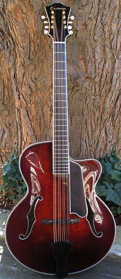Eastman MDC-805 mandocello. --- https://www.pinterest.com/lardyfatboy/