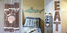 Here are 20 great looking pallet wall art ideas that are simple enough that anyone can do, no matter your artistic ability.