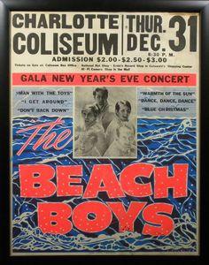 The Beach Boys Concert Poster